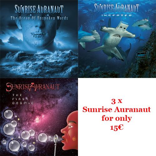 sunrise auranaut CD bundle